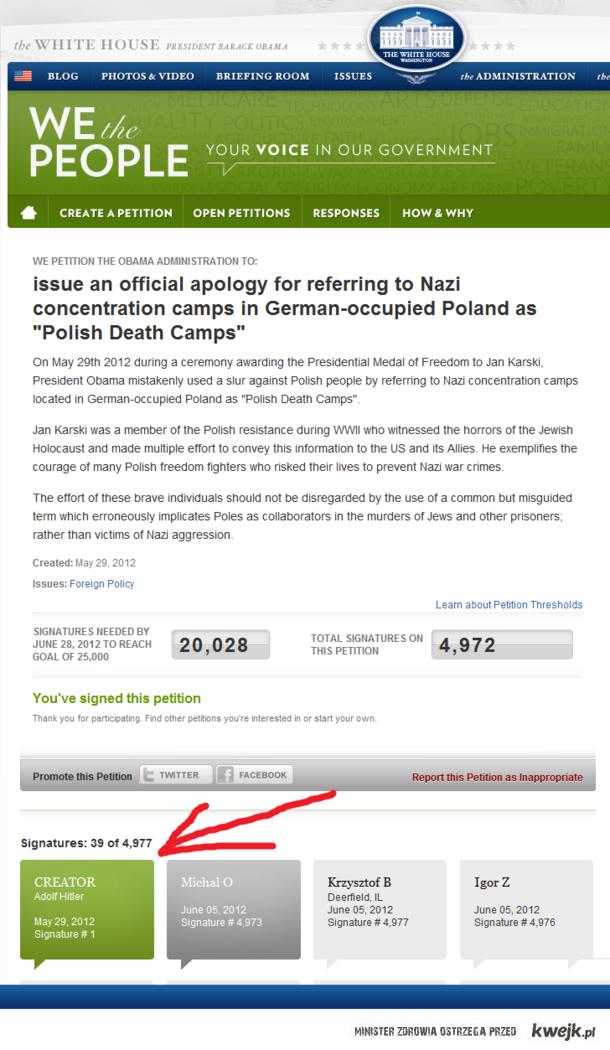 Nawet Naziści są oburzeni wypowiedzią Obamy