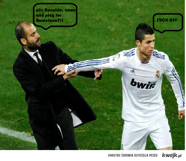 Hala Madrid fuck barca <3