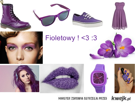 Fioletowy ! <3 :3