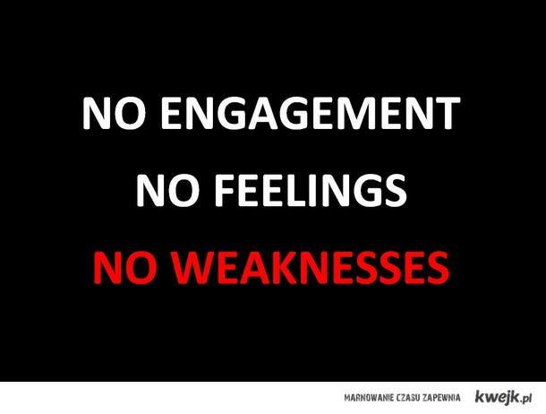 No weaknesses