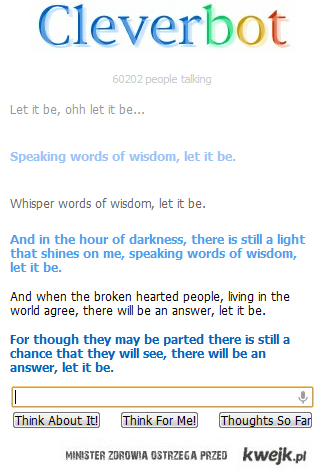 Cleverbot - The Beatles - Let It Be
