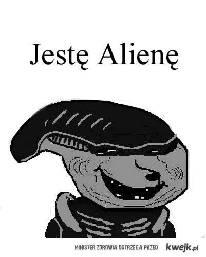 jestę alienę