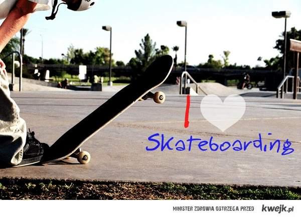 I ♥ skateboarding