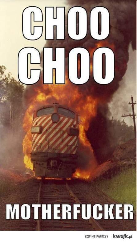 Choo choo!!