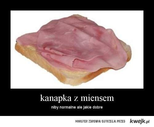 kanapka z miensem
