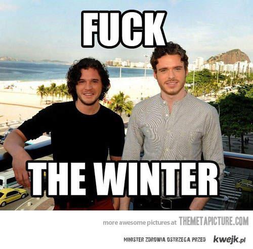 Chrzanić zimę