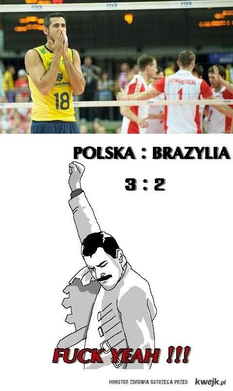 Polska : Brazylia