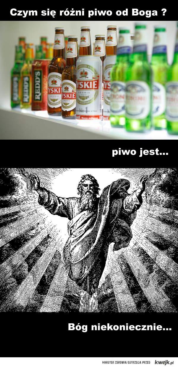 Piwo vs Bóg