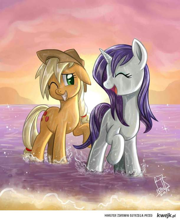 Applejack & Rarity