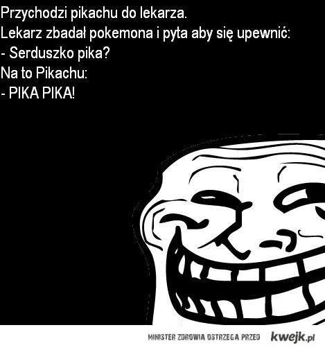 Przychodzi Pikachu do lekarza