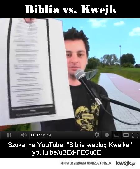Biblia vs. Kwejk