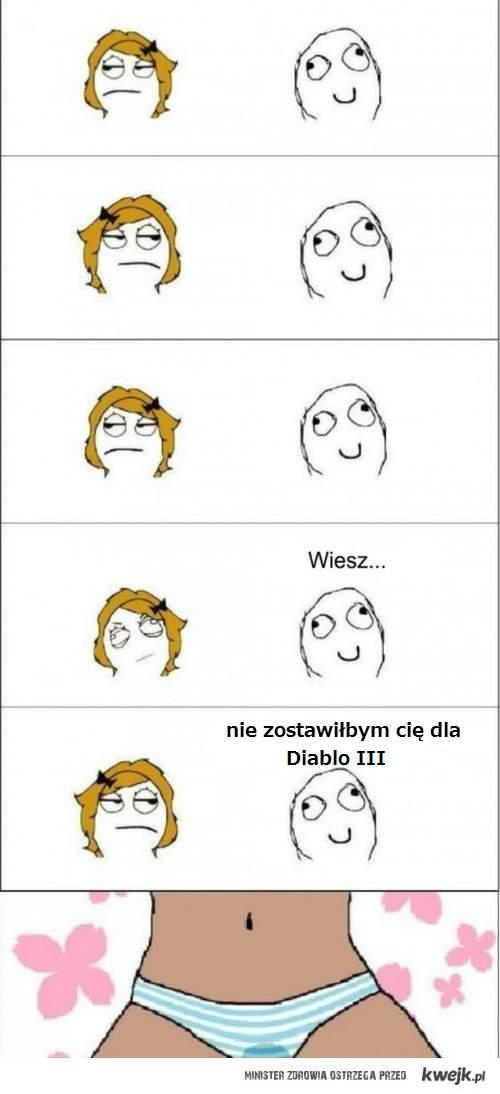 Diablo III. nie to że nie lubie. bo lubie. ale...