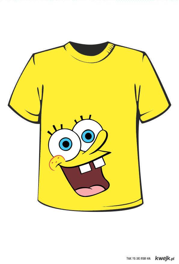 koszulka spongebob