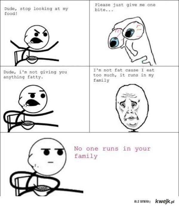 No one runs