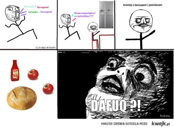 Keczup z pomidorem