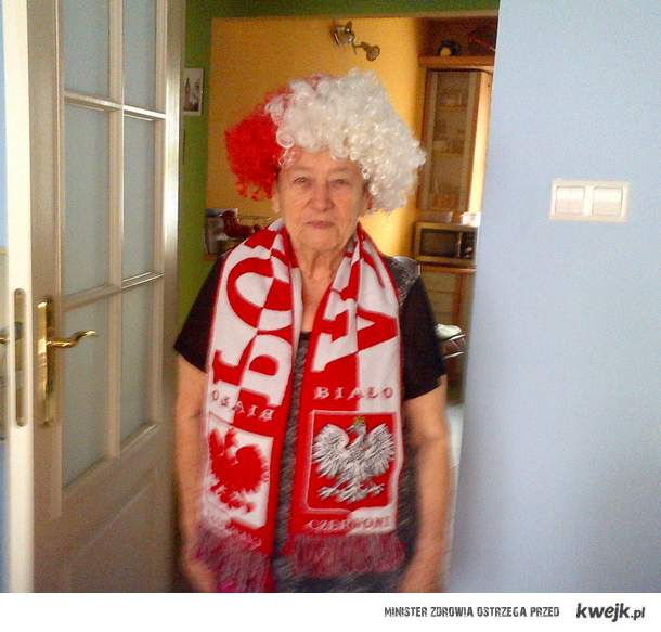 Grand Mum is ready for 2morrow..Don't disappoint her guys:)))
