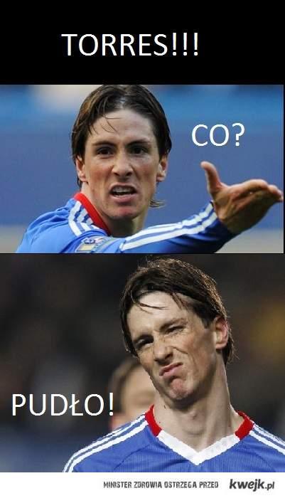 Torres, co? pudło!