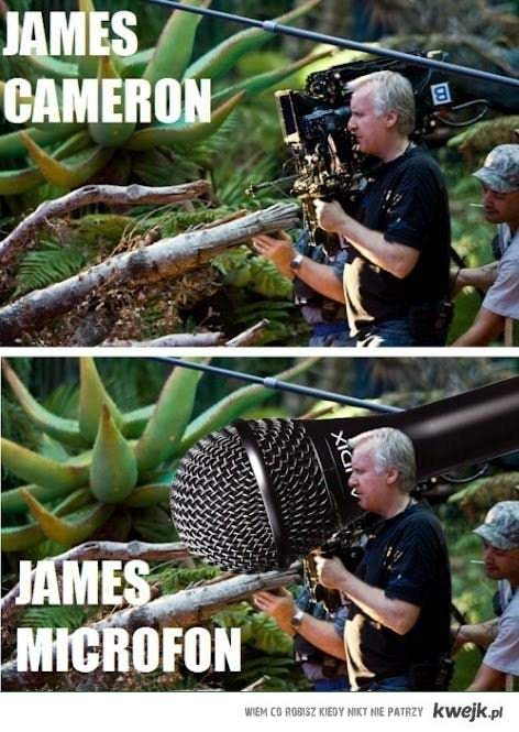 Inne oblicze Jamersa Camerona