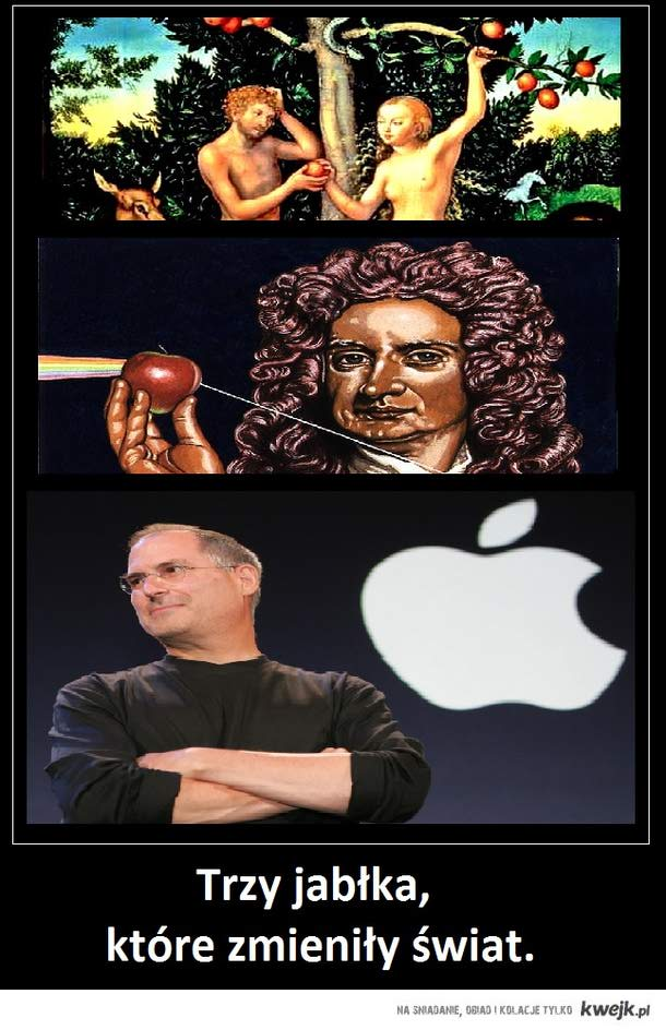 Trzy jabłka, które zmieniły świat