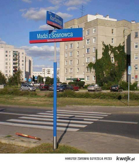 Ulica Madzi z Sosnowca