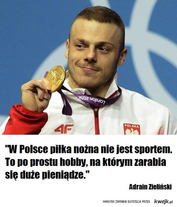 Adrian Zieliński o piłce nożnej
