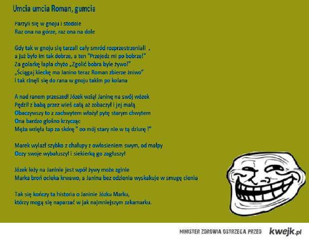 Wiersz O Janinie Ministerstwo śmiesznych Obrazków Kwejkpl
