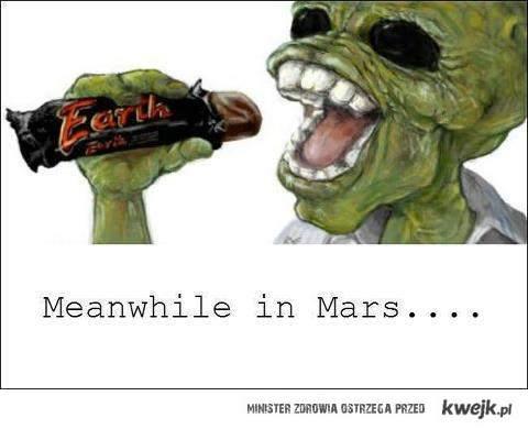 Earth - Mars
