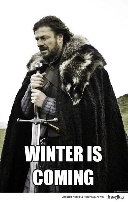 zima idzie