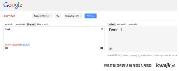 Nie ma to jak dobre tłumaczenie..