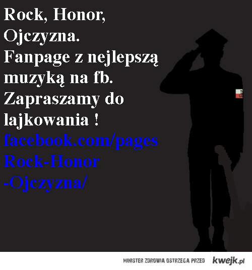 Rock. Honor, Ojczyzna