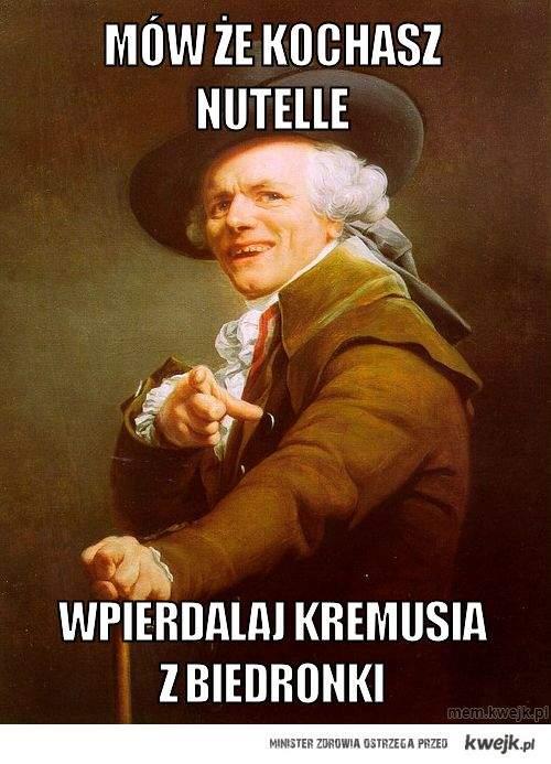 Mów że kochasz Nutelle