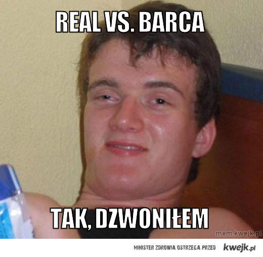 Real  vs. Barca