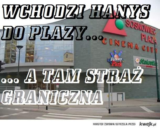 Hanysy w Sosnowcu