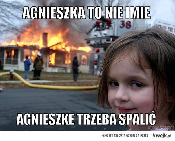 Agnieszka to nie imie