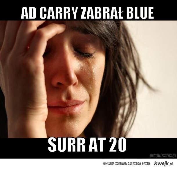 AD carry zabrał blue