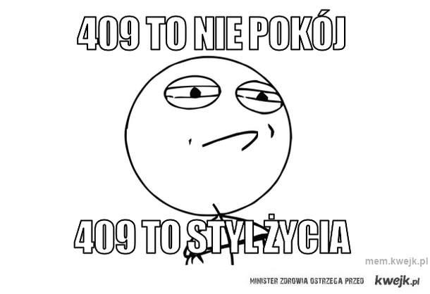 409 to nie pokój