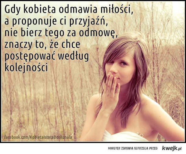 Gdy kobieta odmawia miłości...