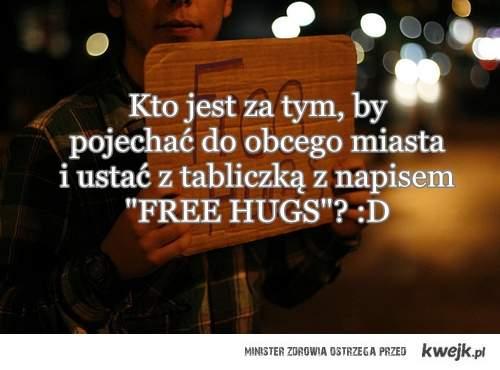 FREE HUGS :D