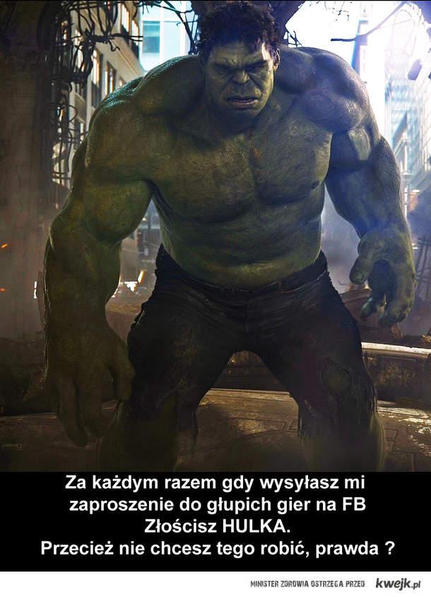 Hulk zły
