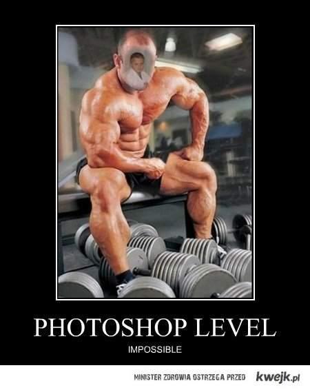 photoshop level impossible