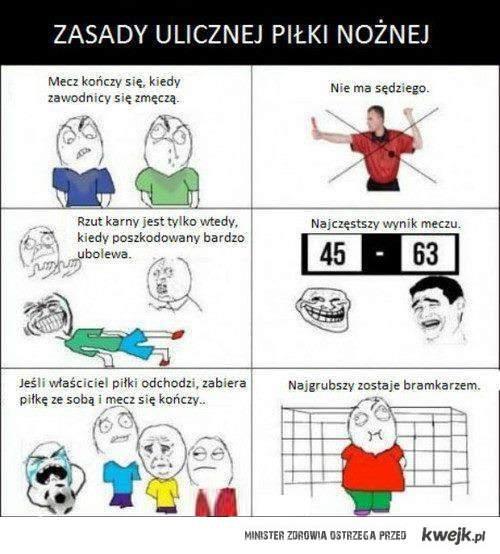 Zasady ulicznej Piłki nożnej