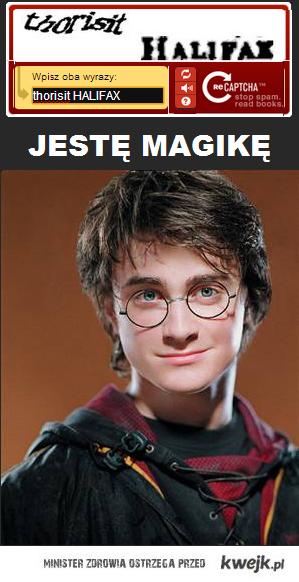 jestę magikę