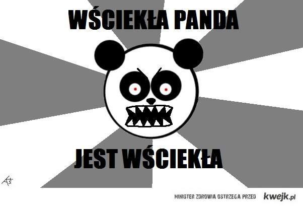wściekła panda