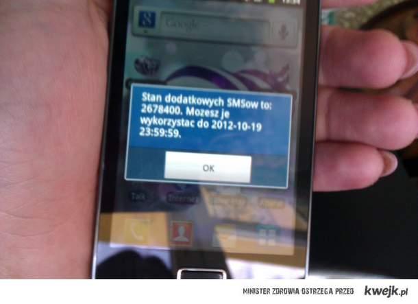 miliony sms