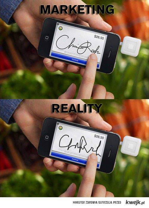 marketing a rzeczywistość
