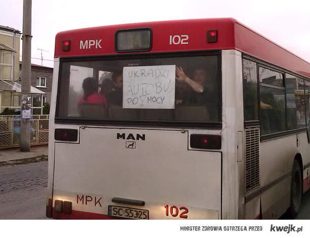 Ukradli autobus xd