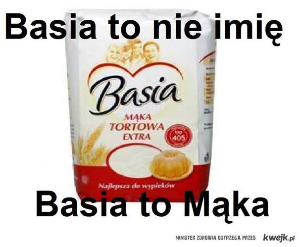 Basia to nie imię...