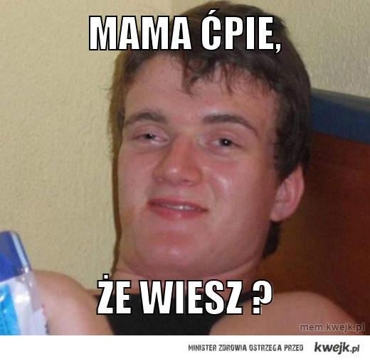 Mama ćpie,