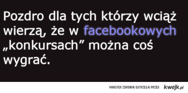 FB'owe konkursy.