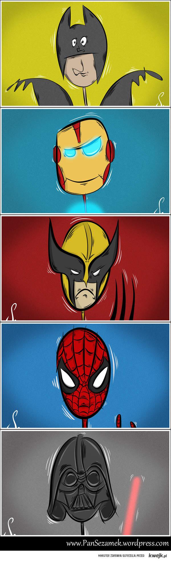Bohaterowie komiksow